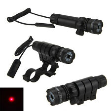 Hunting Adjusted Red Dot Laser Sight Scope 20mm Picatinny Mount 4 Rifle Gun New