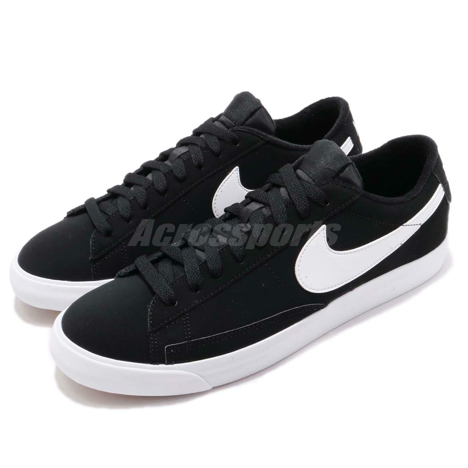 Nike Blazer Low 09 ND Negro Blanco Zapatos Hombre casuales Skate Boarding Zapatos Blanco  371760029 b9a86f