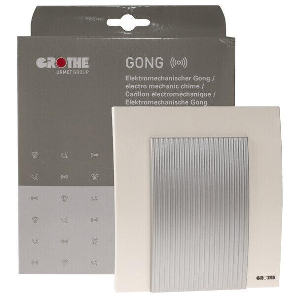 2 Stück Grothe 44565 Gong 565 Türgong elektromechanisch Zweiklang Türklingel