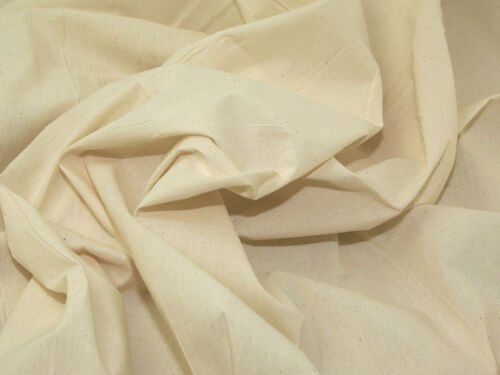 "Calico Fabric Medium Weight 60/"" Wide 100/% Cotton £10.99 For 4 Metres"