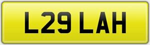 L29-LAH-OLD-STYLE-RARE-2-DIGIT-CAR-REG-NUMBER-PLATE-ALL-FEES-PAID-LA-LH-LYN-LEE