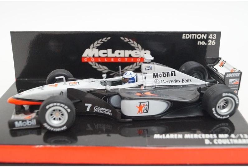 per poco costoso McLaren MP MP MP 4 13 Coulthard 1998 530984307 1 43 Minichamps  punti vendita
