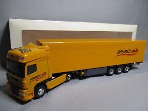 Dv8021 Eligor 1/43 Daf Xf105 Cabine Supersports Transport Doumen 113981 Tres Rare