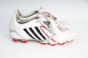 Mens-Adidas-Predator-Absolado-TRX-FG-White-Soccer-Boots-Cleats-8-US-2007-Rare