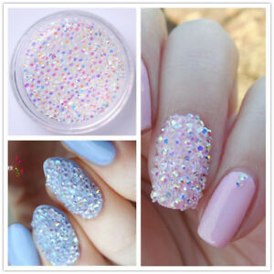 1fa6ec5972 Details about Crystal Pixie 3D Nail Art Micro Zircon 1.2mm Mini Rhinestones  DIY Decoration Gem