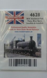 Modelmaster MM4817 L1 Large Numbers Decals for BR 1980s Locos