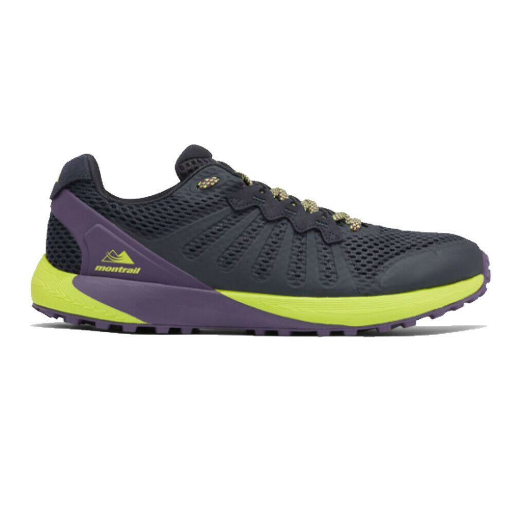 Montrail Mens F.K.T Trail Running Shoes Trainers Sneakers Black Sports