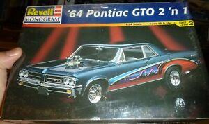 REVELL-85-2461-1964-PONTIAC-GTO-2n1-1-24-Model-Car-Mountain-FS