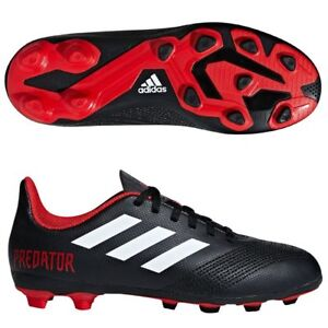 new style 1e27f 5b2ea Image is loading Adidas-Kids-Shoes-Boys-Soccer-Predator-18-4-