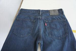 Levi-s-511-Herren-Men-duenne-Jeans-Hose-W31-L32-Stonwasched-Darkblue-Top-P3