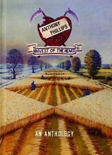 ANTHONY PHILLIPS: Harvest of the heart – An anthology; book cover; 5CD, NEU
