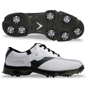 d458085b09e8 Details about Callaway X NItro Mens Golf Shoes - NEW - Leather uppers and  waterproof med fit