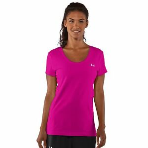 Under-Armour-Womens-Charged-Cotton-Sassy-Scoop-T-Shirt