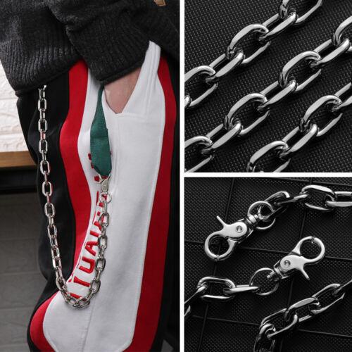 New Punk Hip-hop Trendy leather Belts Waist Chain Pants Chain Accessories