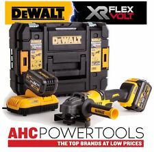 Dewalt DCG414T2 Grinder XR Flexvolt 54V Cordless 125mm (2 x 6.0Ah Batteries)