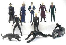 """DIABOLIK """"2a serie ZAINI grande 10 figure EVA nera"""" 2002 no cartina cm. 9 circa"""