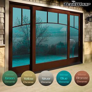 Self-Adhesive-Mirror-Chrome-Window-Film-One-Way-Reflective-Glass-Solar-UV-IR