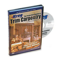 Kreg V07-dvd The Pocket Hole Solution To Trim Carpentry on sale
