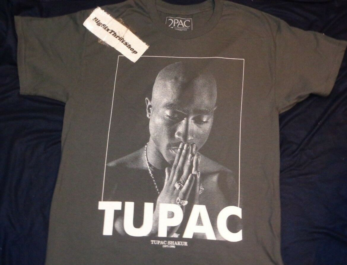 TUPAC SHAKUR 2PAC RARE SHIRT AUTHENTIC ADULT LARGE