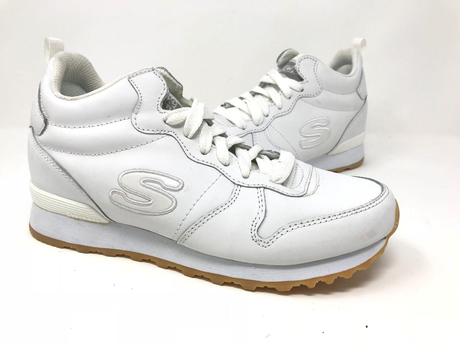 New! Women's Skechers 128 OG 85 Street Sneaks Jogger Shoes - White A25