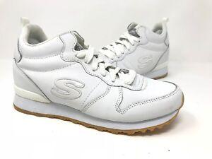 384571756ffb New! Women s Skechers 128 OG 85 Street Sneaks Jogger Shoes - White ...