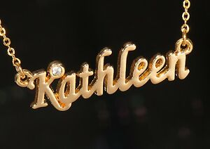KATHLEEN-Name-Necklace-with-Rhinestone-Gold-or-Silver-Tone