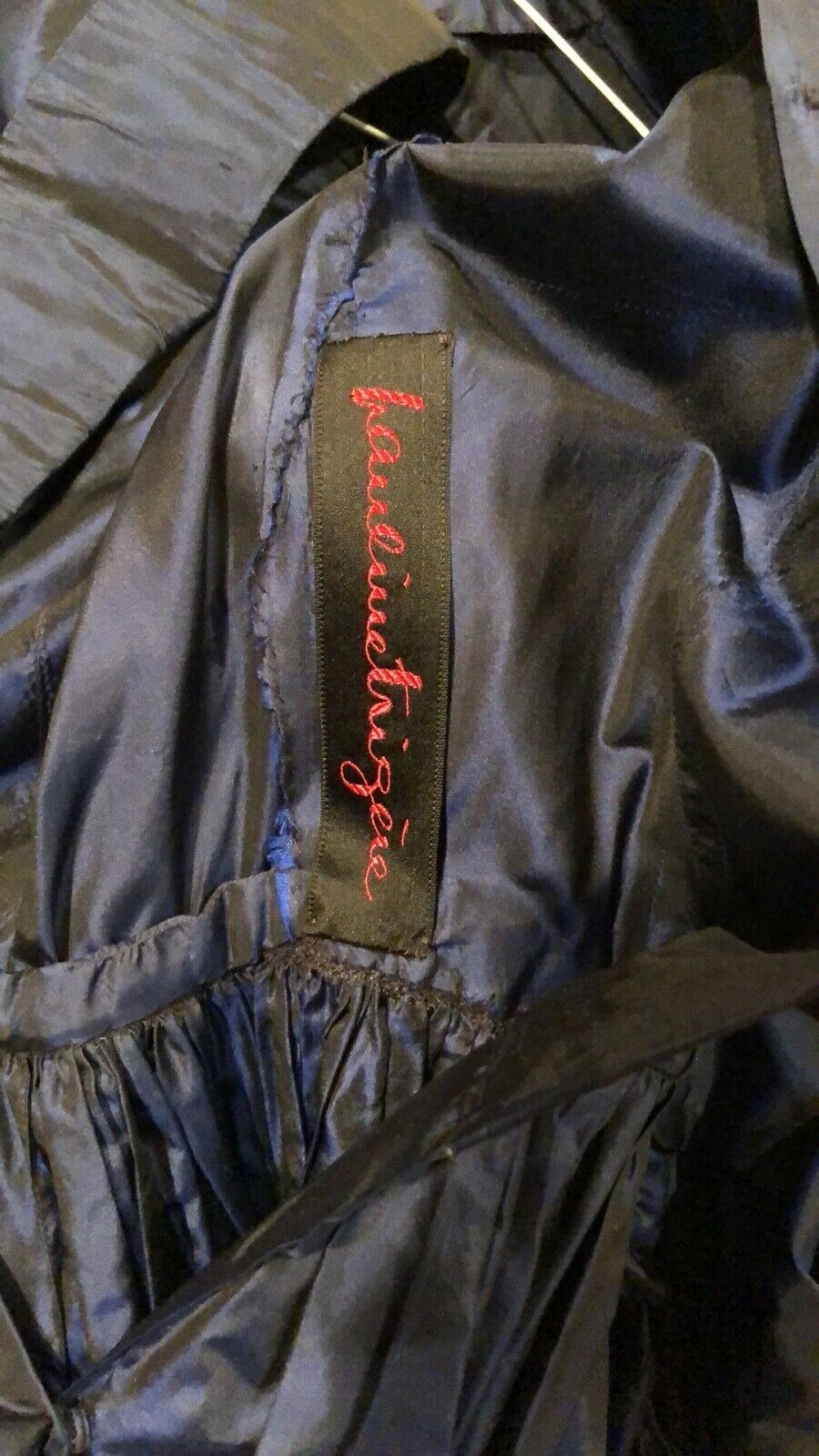 Vintage, Pauline Trigere silk dress - image 7