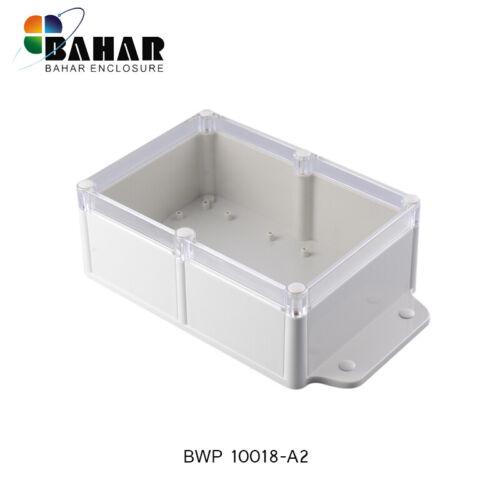 ABS Leergehäuse Industriegehäuse Kunststoff Gehäuse Transparent IP68 260x143x78