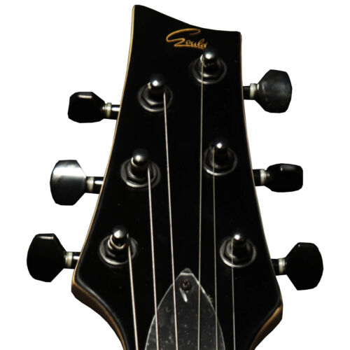 GOULD GD350 GUITAR ELECTRIC GOTHIC METAL ARCH TOP  RRP £309