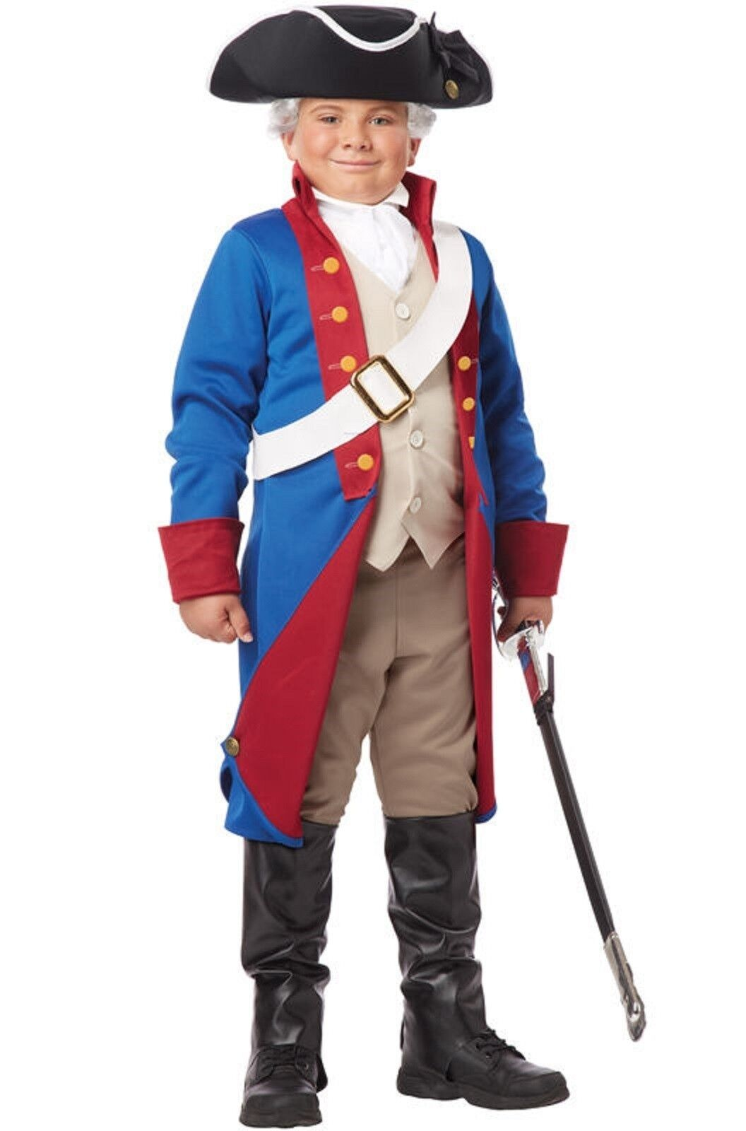 Brand New American Patriot Man Adult Costume Kit