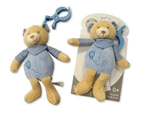 Snuggle Baby Pram Toy Blue//Pink