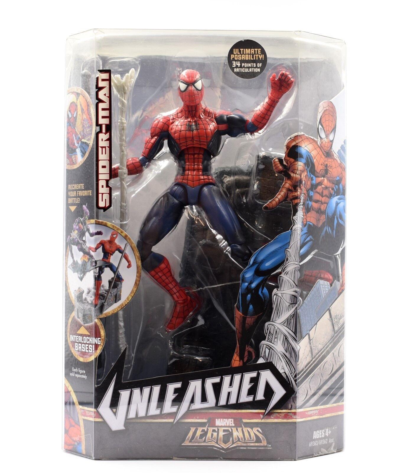 Marvel - legenden entfesselt serie -  spider - man  12  deluxe - action - figur