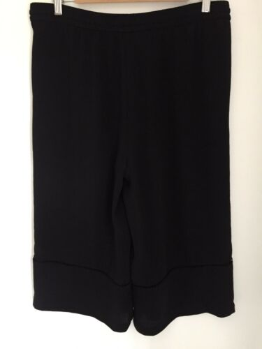 Zara Divided Large Size Culottes Skirt Black aUwaqz