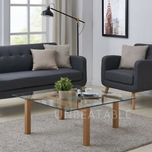 Modern-Clear-Glass-Coffee-Table-with-Wood-Finish-Legs-Contemporary-Living-Room