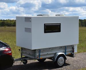 Mini-Camper-Mini-Wohnwagen-Absetzkabine-Anhanger-BAUPLAN
