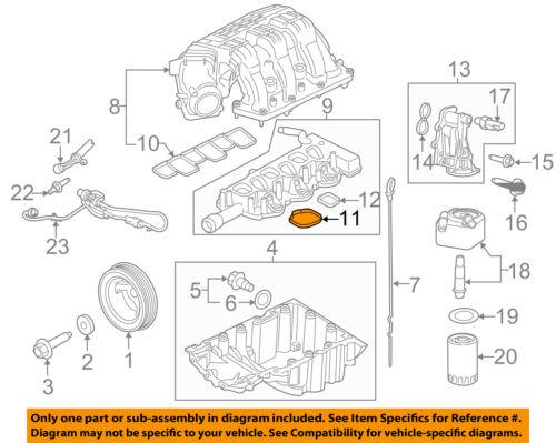 FORD OEM-Engine 6 PACK Intake Manifold Gasket 7T4Z9439E
