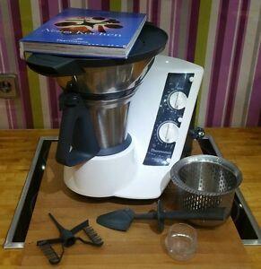 Dettagli su Vorwerk Bimby tm21 Robot da cucina con funzione cottura VAROMA  & ACCESSORI * TOP *- mostra il titolo originale