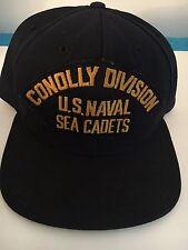 U S NAVY CAP  CONOLLY DIVISION --US NAVAL SEA CADETS