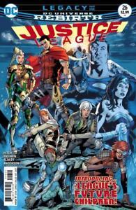 Justice-League-26-Rebirth-1st-App-Super-Kids-DC-Comic-1st-Print-2017-unread-NM