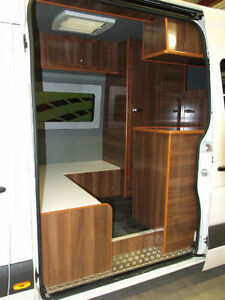 PANEL VAN RACE VAN CONVERSION MOTOCROSS MOTORHOME SELF BUILD