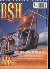 BSH THE EUROPEAN CUSTOM BIKE MAGAZINE - April 2002