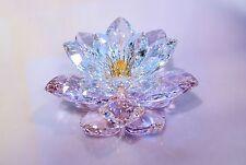 Swarovski Waterlily Rosaline Pink Lotus Flower 1141674 Brand New In Box