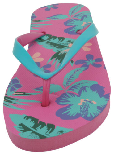 Sandrocks Ladies Flower Print Flip Flop
