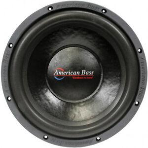 new ab 10 dvc subwoofer speaker dual voice coil 4 ohm bass sub car ebay. Black Bedroom Furniture Sets. Home Design Ideas