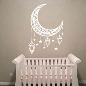 Moon Wall Decals Boho Style Decor For