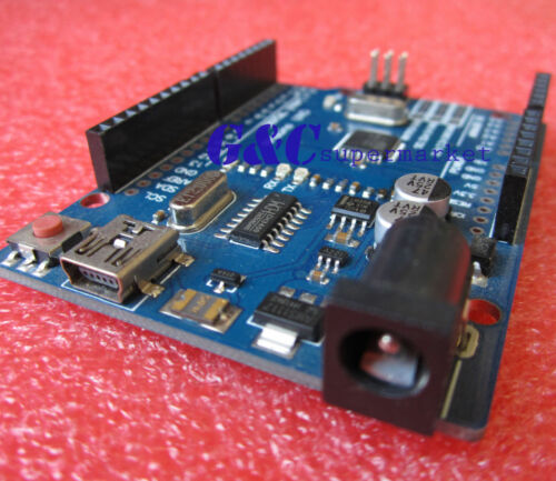 5PCS NEW ATMEGA328P-AU UNO R3 BOARD Compatible CH340G FOR ARDUINO WITH MINI USB