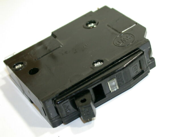 Square D Circuit Breaker 20A Type QO120  Used 20AMP