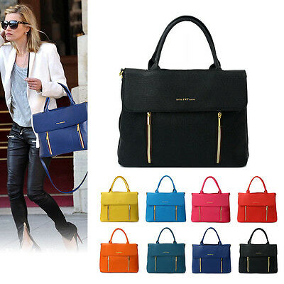 Style2030 NEW Womens Shoulder Tote Satchel Messenger CrossBody Faux Leather Bag