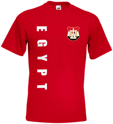 WM 2018 Ägypten EGYPT T-Shirt Trikot Name Nummer Mini WM