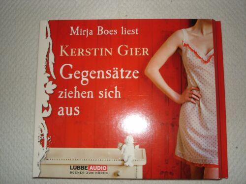 """1 von 1 - Hörbuch """"Gegensätze ziehen sich aus"""" von Kerstin Gier, ISBN 978-3-7857-3743-9"""